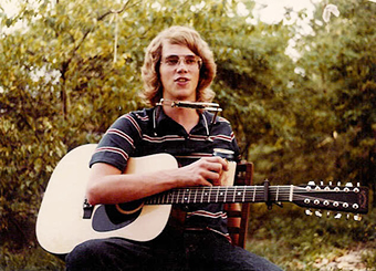 Steve Roberts with Takamine 12 String ca 1979